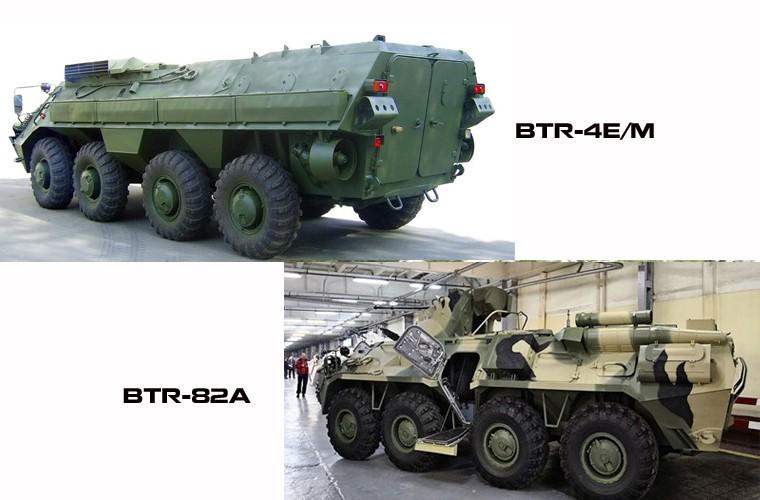 """BTR-4E/M Ukraine se """"lam co"""" BTR-82A Nga neu doi dau?-Hinh-7"""