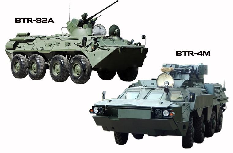 """BTR-4E/M Ukraine se """"lam co"""" BTR-82A Nga neu doi dau?-Hinh-9"""