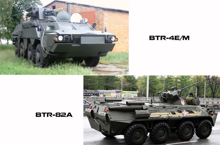 """BTR-4E/M Ukraine se """"lam co"""" BTR-82A Nga neu doi dau?"""