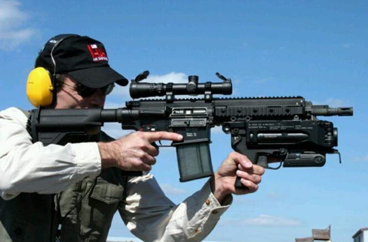 "Sung truong HK-416 lai sung phong luu M320: ""Than chet la day""-Hinh-5"