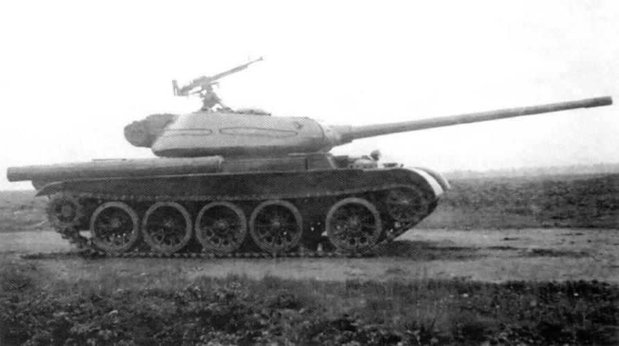 Loat anh hiem thu nghiem phien ban T-54 dau tien