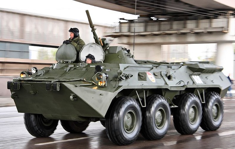 "Tram tro phien ban ""taxi"" BTR-80 do Trieu Tien tu san xuat-Hinh-4"