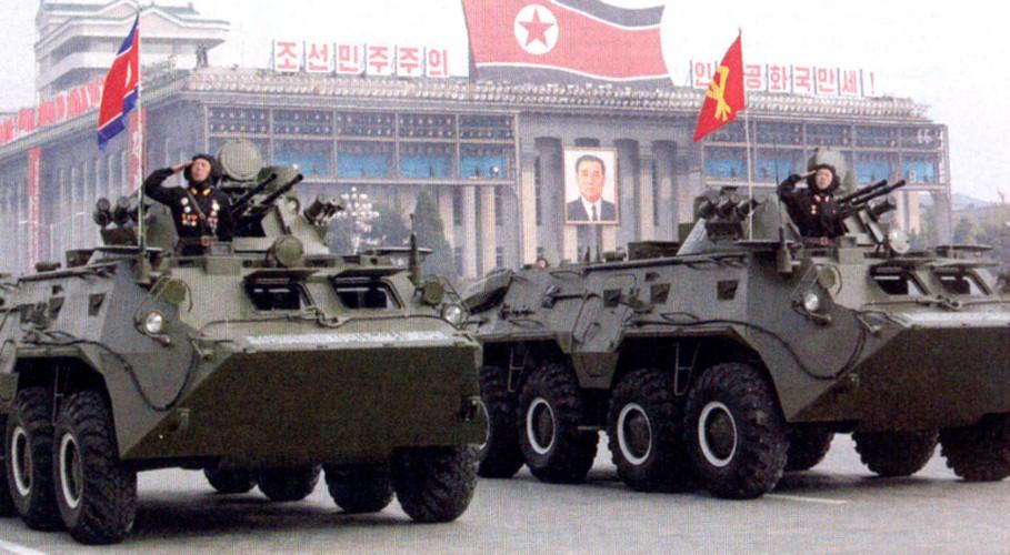 "Tram tro phien ban ""taxi"" BTR-80 do Trieu Tien tu san xuat"