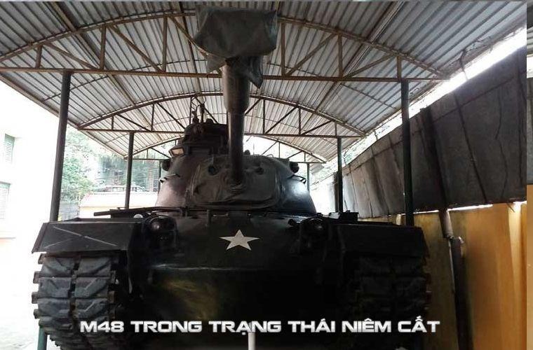 Mot giai phap kha thi nang cap xe tang M48 Viet Nam