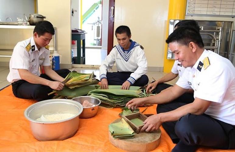 Anh: Bo doi nha gian DK1 tat bat don Tet som-Hinh-10