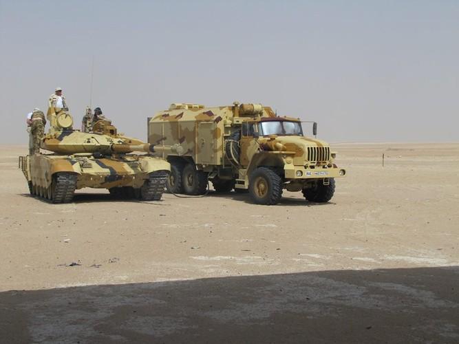 Muc kich xe tang T-90MS thu nghiem o quoc gia bi an