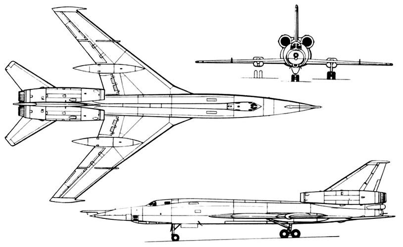 """""""Dung toc gay"""" kha nang bay """"doc"""" cua may bay Tu-22 Nga-Hinh-2"""