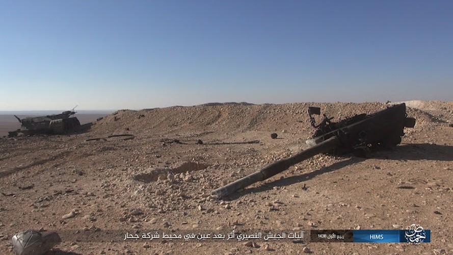 """""""Chet soc"""" so vu khi phien quan IS tom duoc o Palmyra"""