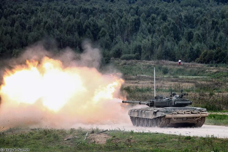 Kinh ngac: Xe tang T-72B3 bat ngo tham chien o Palmyra, Syria-Hinh-10