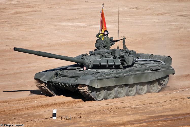 Kinh ngac: Xe tang T-72B3 bat ngo tham chien o Palmyra, Syria-Hinh-5