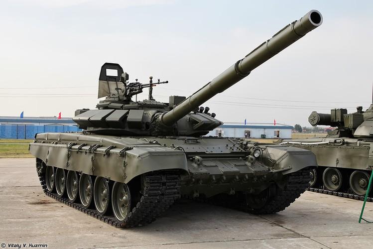 Kinh ngac: Xe tang T-72B3 bat ngo tham chien o Palmyra, Syria-Hinh-6
