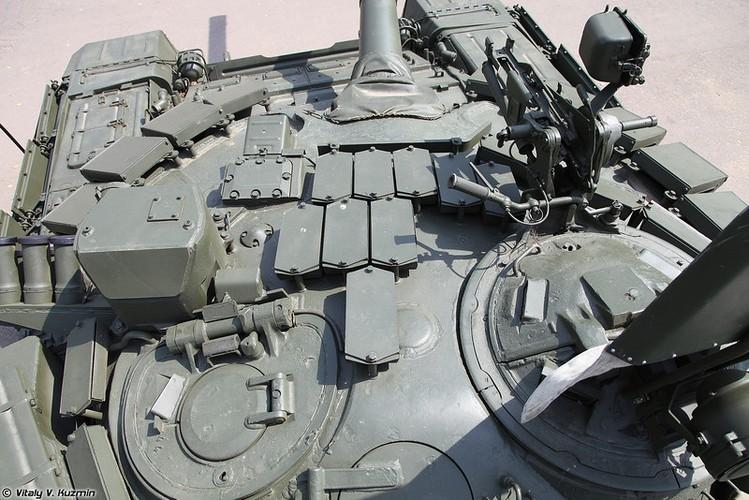 Kinh ngac: Xe tang T-72B3 bat ngo tham chien o Palmyra, Syria-Hinh-9