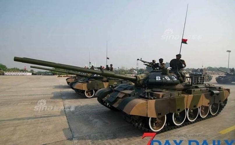 """Giat minh dan vu khi """"khung"""" Quan doi Myanmar duyet binh-Hinh-5"""
