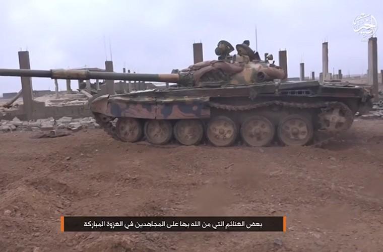 That vong Quan doi Syria lai