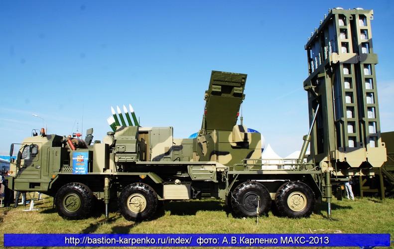 Sau S-400, My phai e de ten lua S-350E cua Nga
