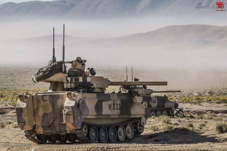 Kho do dan xe tang T-80, BMP-2 do My…san xuat