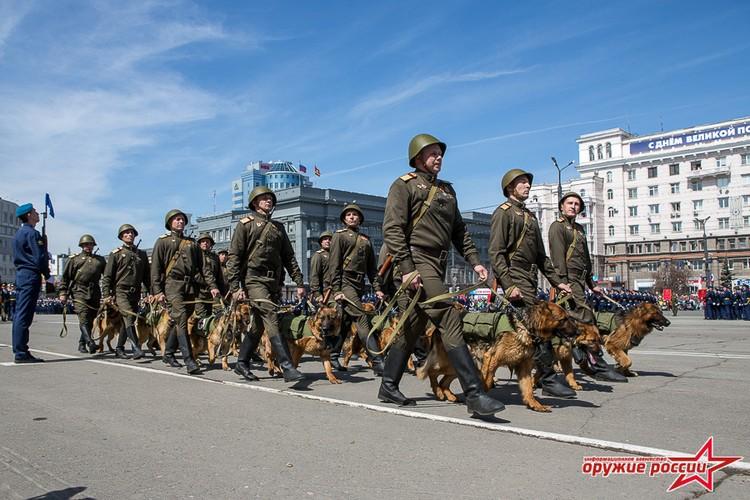 """""""Quai thu"""" SU-152 bat ngo tai xuat trong duyet binh o Nga-Hinh-17"""