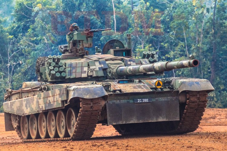 Muc kich xe tang – phao Malaysia na dan hoanh trang