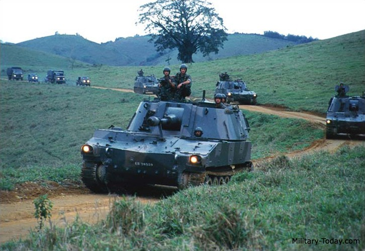 Phao M108 thoi chien tranh Viet Nam nghi huu tren toan cau-Hinh-10
