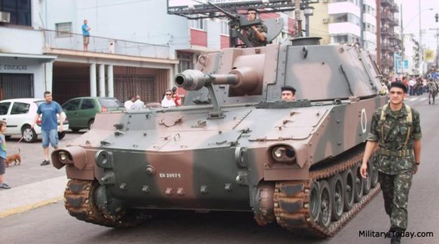 Phao M108 thoi chien tranh Viet Nam nghi huu tren toan cau