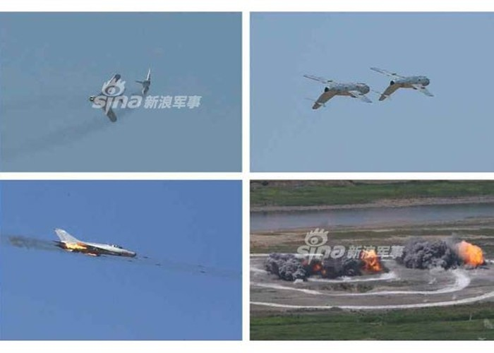 Kinh ngac: Trieu Tien dinh dung MiG-15 danh…tau san bay