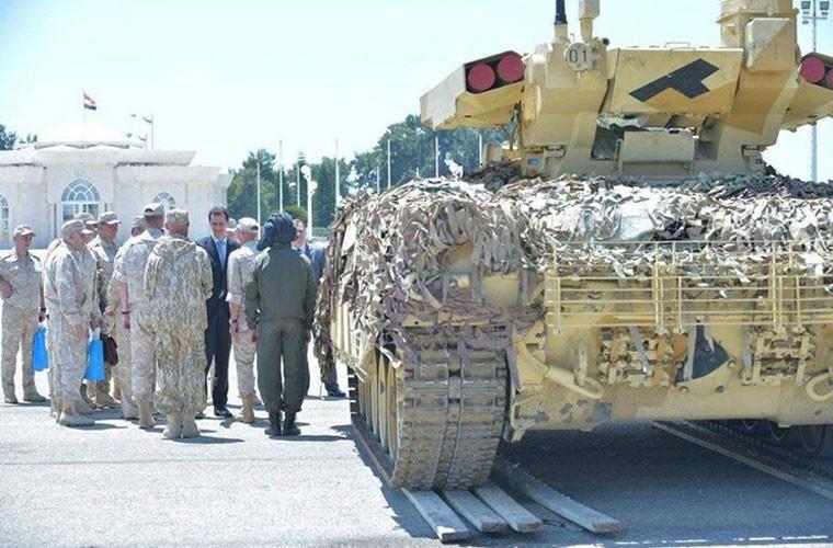 """Ke huy diet"" BMPT-72 ra tran o Syria, phien quan IS tan doi-Hinh-4"