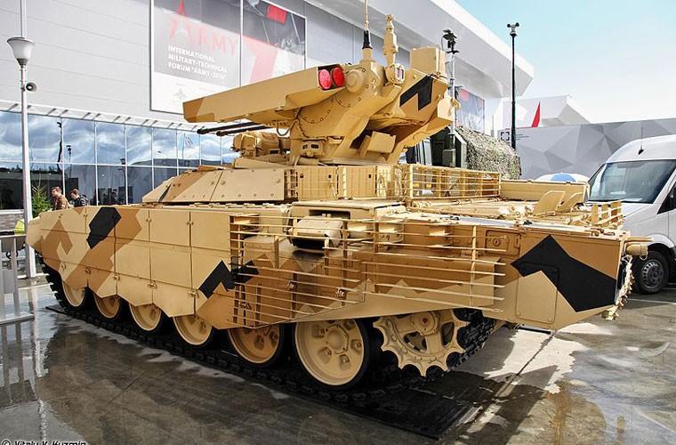 """Ke huy diet"" BMPT-72 ra tran o Syria, phien quan IS tan doi-Hinh-8"