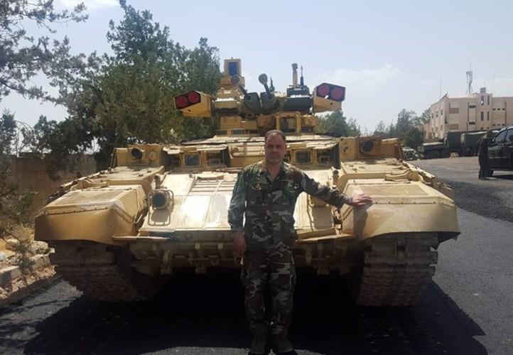 """Ke huy diet"" BMPT-72 ra tran o Syria, phien quan IS tan doi"