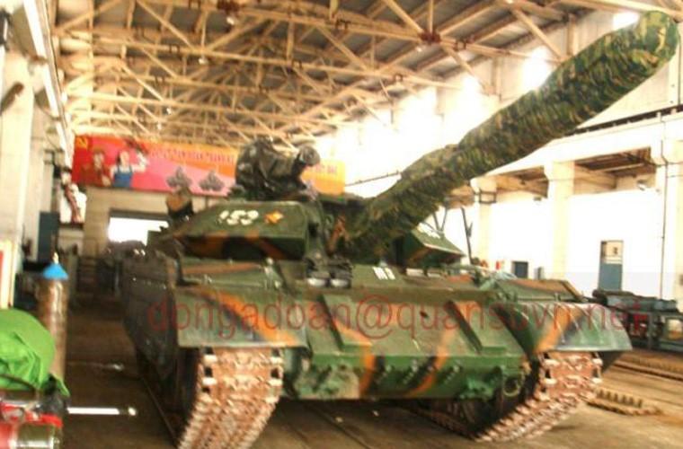 Tuyet: Viet Nam dang nang cap mot so xe tang T-54B-Hinh-10