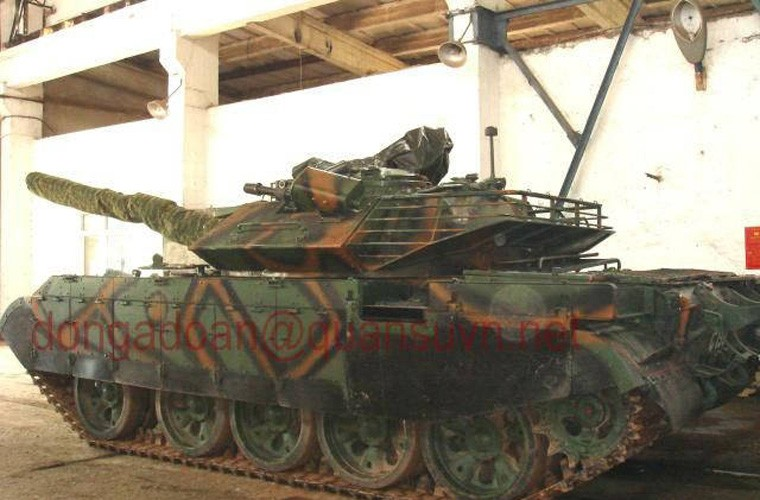 Tuyet: Viet Nam dang nang cap mot so xe tang T-54B-Hinh-11