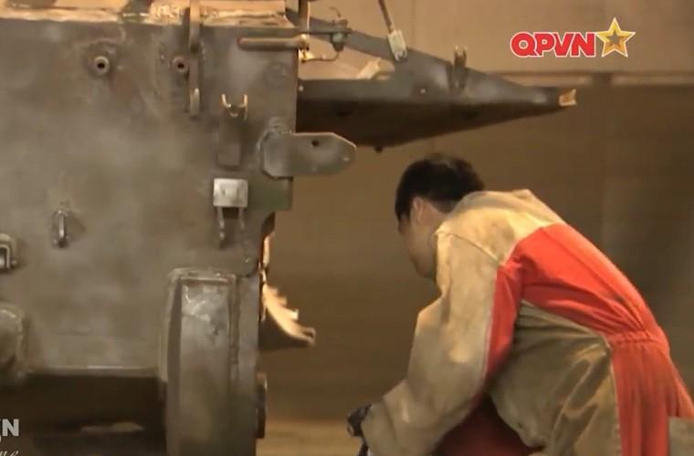Tuyet: Viet Nam dang nang cap mot so xe tang T-54B-Hinh-7