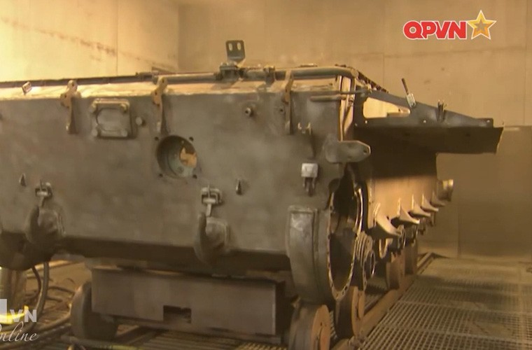 Tuyet: Viet Nam dang nang cap mot so xe tang T-54B-Hinh-8
