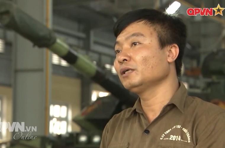 Tuyet: Viet Nam dang nang cap mot so xe tang T-54B
