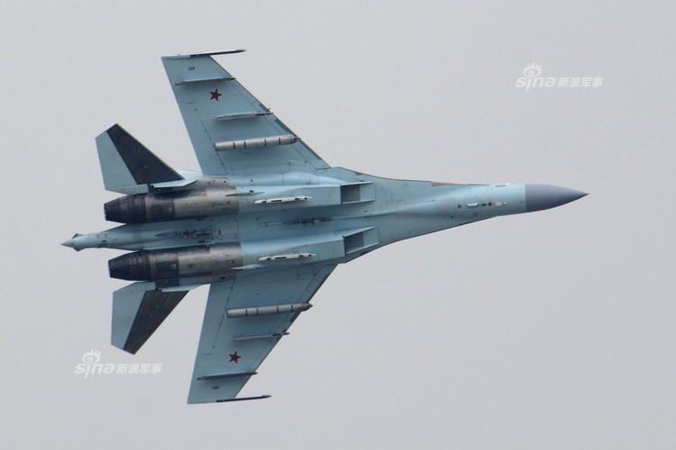 Man nhan chien dau co Nga-Trung khong kich...may bay F-16-Hinh-8