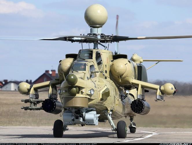 Kho hieu viec Nga dua truc thang Mi-28UB toi Syria thu lua