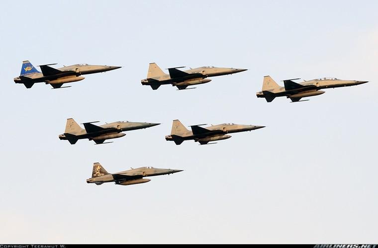 Thai Lan van muon giu tiem kich F-5, VN tai sao khong?