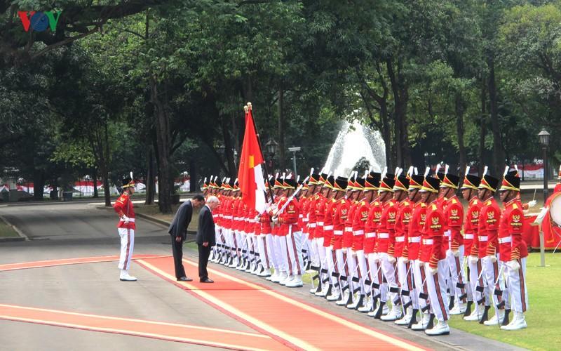 Toan canh le don chinh thuc Tong Bi thu Nguyen Phu Trong tai Indonesia-Hinh-5
