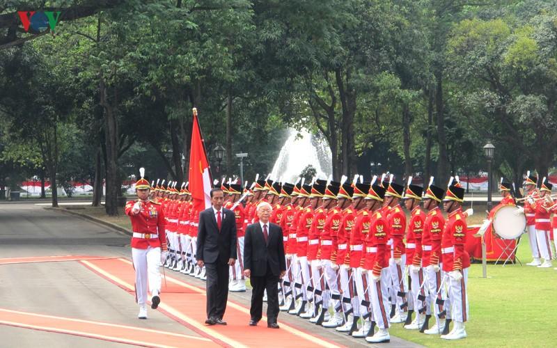 Toan canh le don chinh thuc Tong Bi thu Nguyen Phu Trong tai Indonesia-Hinh-6
