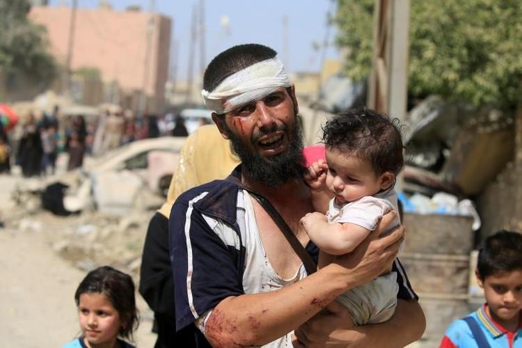 Chum anh luc luong an ninh Iraq tren chien tuyen Tay Mosul-Hinh-12
