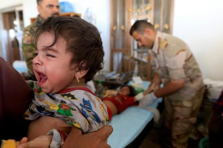 Chum anh luc luong an ninh Iraq tren chien tuyen Tay Mosul-Hinh-13