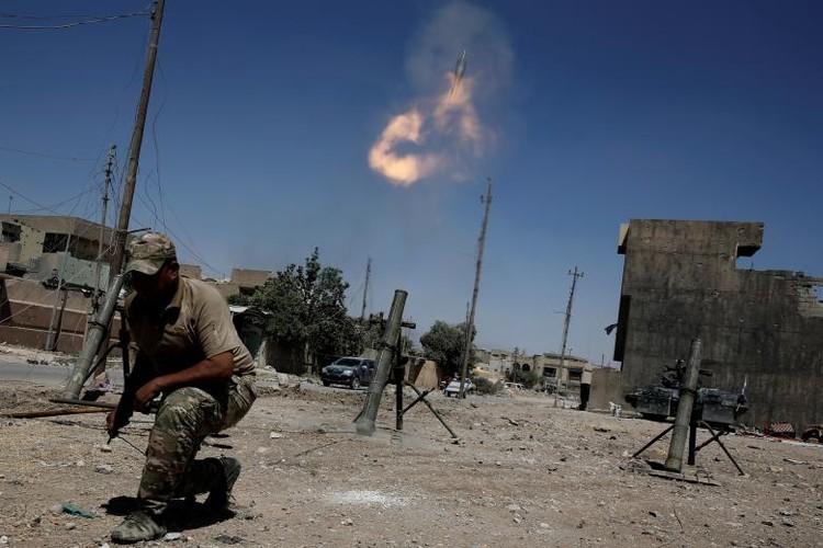 Chum anh luc luong an ninh Iraq tren chien tuyen Tay Mosul-Hinh-15