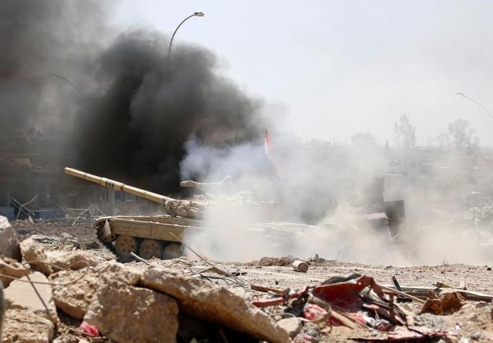 Chum anh luc luong an ninh Iraq tren chien tuyen Tay Mosul-Hinh-3