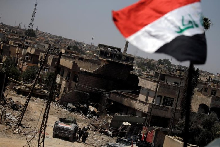 Chum anh luc luong an ninh Iraq tren chien tuyen Tay Mosul-Hinh-4