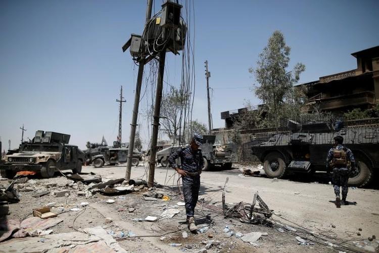 Chum anh luc luong an ninh Iraq tren chien tuyen Tay Mosul-Hinh-5