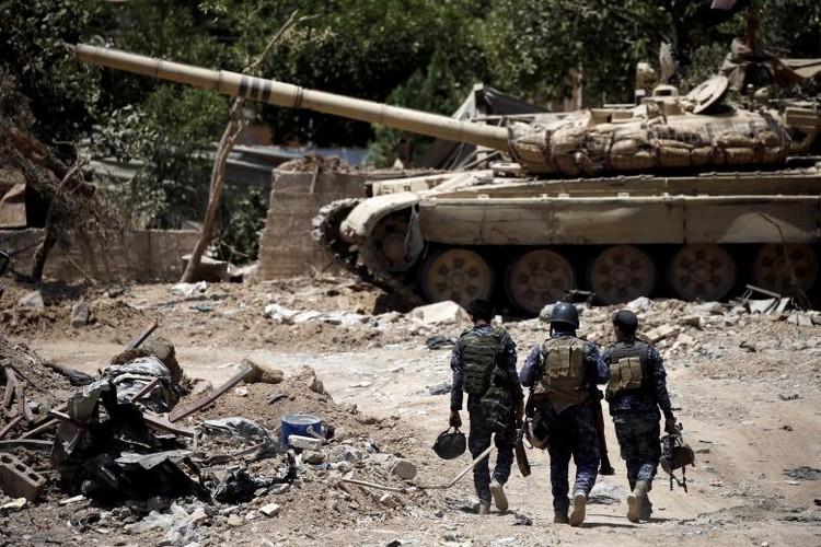 Chum anh luc luong an ninh Iraq tren chien tuyen Tay Mosul-Hinh-7