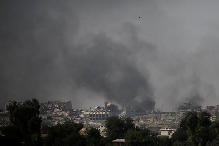 Chum anh luc luong an ninh Iraq tren chien tuyen Tay Mosul-Hinh-9