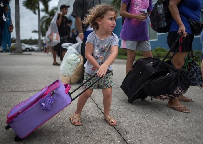 Hoi ha, bang Florida chuan bi doi pho sieu bao Irma