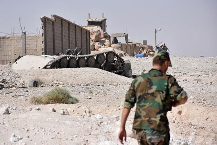 Hinh anh Quan doi Syria truy diet phien quan IS o Deir Ezzor-Hinh-2