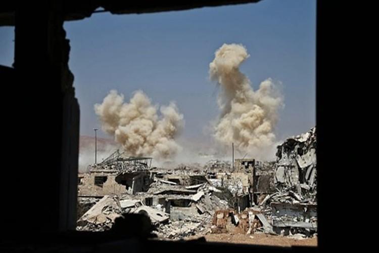 Hinh anh Quan doi Syria truy diet phien quan IS o Deir Ezzor-Hinh-3