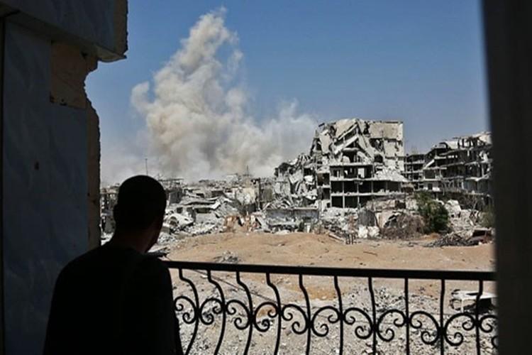 Hinh anh Quan doi Syria truy diet phien quan IS o Deir Ezzor-Hinh-8